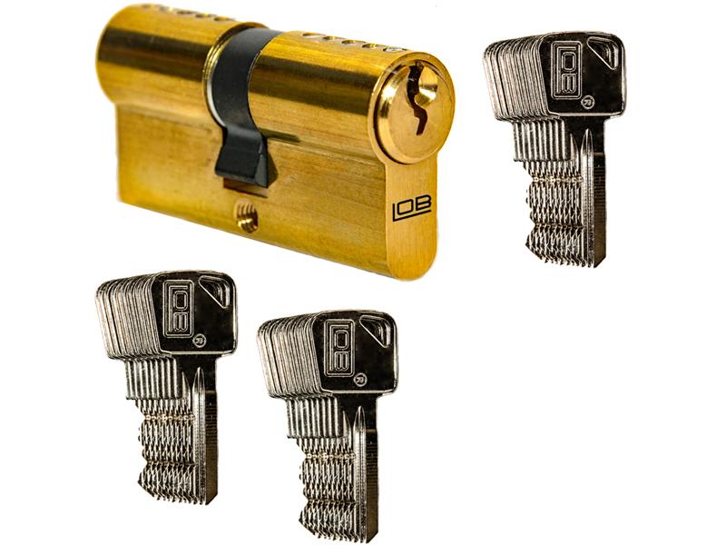 Wkładka 30/30 + 30 kluczy
